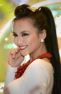 Diễm Hương làm khách mời xinh đẹp của Next Top Model
